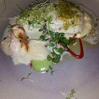 Photo taken at Sjávargrillið - Seafood Grill by Anke on 3/7/2013