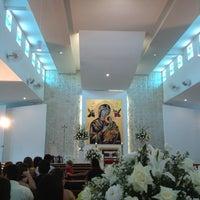 Photo taken at Igreja São Raimundo by Juh M. on 12/29/2012