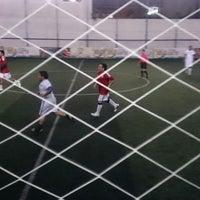 Photo taken at Futbol 7 Cancha La Raza Cuajimalpa by Maru C. on 2/18/2015