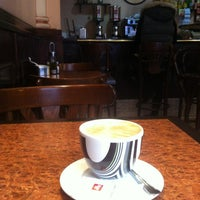 Photo taken at Café Gritti by Luciru R. on 12/18/2012