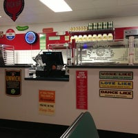 Photo taken at Jimmy John's by Aaron H. on 2/24/2013