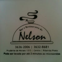 Photo taken at Bar e Restaurante do Nelson by Mariana O. on 11/11/2012