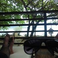Photo taken at Umang Island Resort by Fariz A. on 12/26/2014