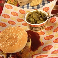 Photo taken at Dickey's Barbeque Pit by Old R. on 1/15/2013
