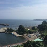 Photo taken at 宮川湾(宮川フィッシャリーナ) by mura on 7/9/2017