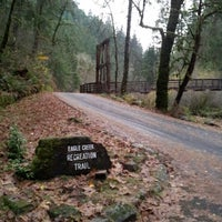 Photo taken at Eagle Creek Trailhead by Irma R. on 11/25/2012