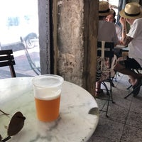 Photo taken at Beer Bazaar Yishkon by petercat on 7/18/2017