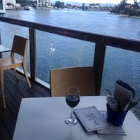 Photo taken at Helm Bar & Bistro by petercat on 9/4/2015