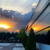 Photo taken at Sunset Mayoları Fabrikası by Fatma Ş. on 4/3/2014