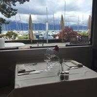 Photo taken at Restaurant du Port de Pully by Blondyna B. on 6/14/2016