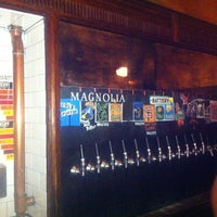 Photo taken at Magnolia Gastropub & Brewery by James P. on 11/12/2012