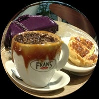 Photo taken at Fran's Café by Camila M. on 11/11/2012