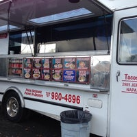 Photo taken at Tacos Garcia by Tanya R. on 11/17/2012