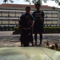 Photo taken at Universitas Negeri Surabaya (UNESA) by Faskho N. on 9/28/2014