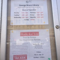 Photo taken at New York Public Library - George Bruce Library by Geraldine V. on 3/7/2016