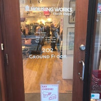 Photo taken at Housing Works Thrift Shop by Geraldine V. on 3/29/2017