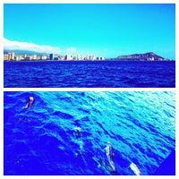 Photo taken at Mamala Bay by Makani C. on 1/23/2013