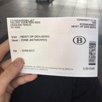 Photo taken at Station Heist-op-den-Berg by Kaat B. on 4/12/2017
