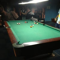 Photo taken at Brewball Pool Club & Bar by Shibah A. on 12/25/2012