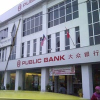 Photo taken at Public Bank by Harith N. on 11/11/2012