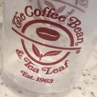 Photo taken at The Coffee Bean & Tea Leaf by Stephen N. on 11/13/2012