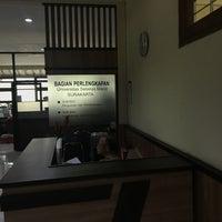 Photo taken at Universitas Sebelas Maret by Goes B. on 11/24/2017