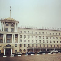 "Photo taken at Гостиница ""Белгород"" by Alex C. on 11/29/2012"