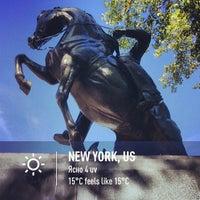 Photo taken at José Julian Martí Monument by Anna Vaughn Hyatt Huntington by Alex C. on 9/15/2013