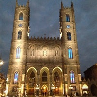 Photo taken at Notre-Dame Basilica of Montréal by Allan M. on 10/27/2012