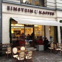 Photo taken at Einstein Kaffee by Marie-Eve V. on 12/10/2012