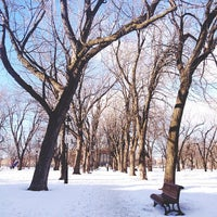 Photo taken at Parc Sir-Wilfrid-Laurier by Marie-Eve V. on 3/5/2014
