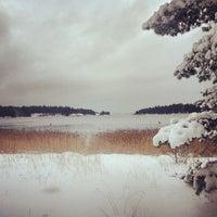 Photo taken at Ängviken by Natalia B. on 12/1/2012
