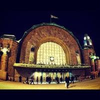 Photo taken at VR Helsinki Central Railway Station by Natalia B. on 12/2/2012