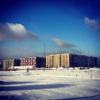 Photo taken at Кудрово by Natalia B. on 2/16/2013