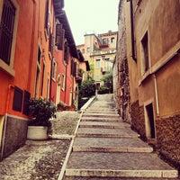 Photo taken at Ostello della Gioventù Villa Francescatti by Natalia B. on 10/12/2012