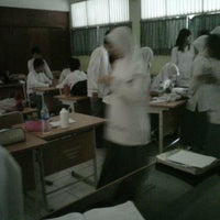 Photo taken at SMAN 71 Jakarta by Zahra H. on 2/15/2013