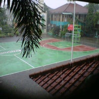 Photo taken at SMAN 71 Jakarta by Zahra H. on 2/19/2013