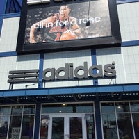 Photo taken at adidas Factory Outlet by Rob P. on 4/2/2015