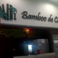 Photo taken at Bamboo De Cafe by Wan Ahmad Masuwaradi W. on 5/23/2014