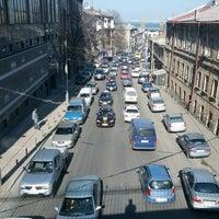 Photo taken at Строгановский Мост by Alex P. on 3/1/2013