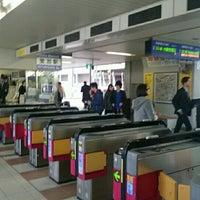 Photo taken at Osaka Monorail Hotarugaike Station by めか on 12/25/2015