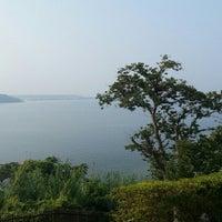 Photo taken at Lake Hamana by めか on 8/13/2013