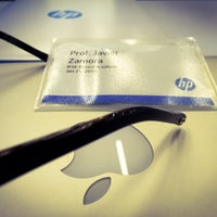 Photo taken at HP Headquarters by Javi Z. on 1/21/2016