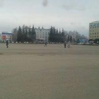 Photo taken at Площадь октября. by Вячеслав on 4/11/2013