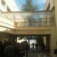 Photo taken at Bilkent University by Merve T. on 3/29/2013