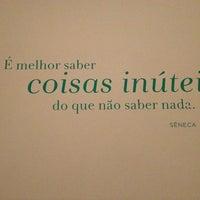 Photo taken at Casa do Saber by Alice C. on 2/21/2013