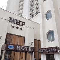 Das Foto wurde bei Готель «Мир» / Myr Hotel von SAEED B. am 10/27/2017 aufgenommen