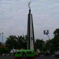 Photo taken at Tugu Kujang Bogor by Heru Z. on 7/24/2013