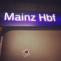 Das Foto wurde bei Mainz Hauptbahnhof von Paul T. am 12/6/2012 aufgenommen