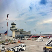 Photo taken at Berlin Tegel Otto Lilienthal Airport (TXL) by Paul T. on 5/30/2013